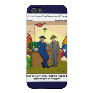 Funny Bugged Police HQ Gifts Mugs Etc. iPhone 5/5S Cases