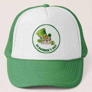 Funny Bulldog Leprechaun St. Patrick's Day Hat