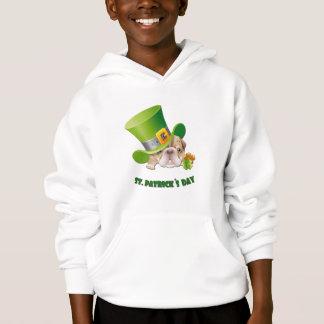 Funny Bulldog St.Patrick's Day Gift Sweatshirt