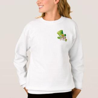 Funny Bulldog. St.Patrick's Day Sweatshirts