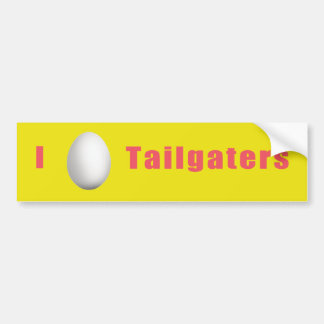 Funny Bumper Sticker for Tailgaters