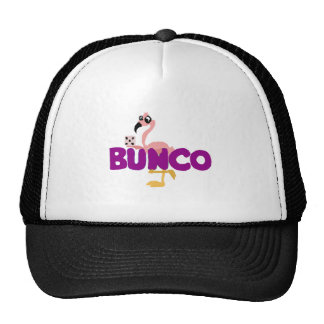 Funny Bunco Dice Game and Pink Flamingo Cap