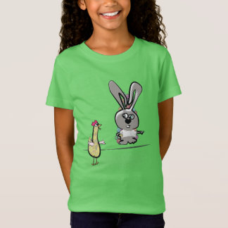 Funny Bunny and Chicken T-Shirt