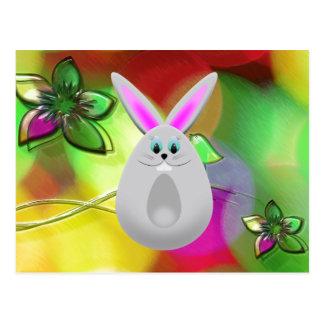 Funny Bunny Egg Postcards