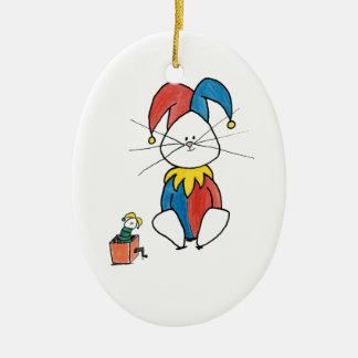 Funny Bunny Ornament