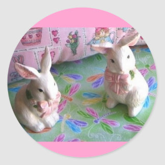 Funny Bunny Stickers