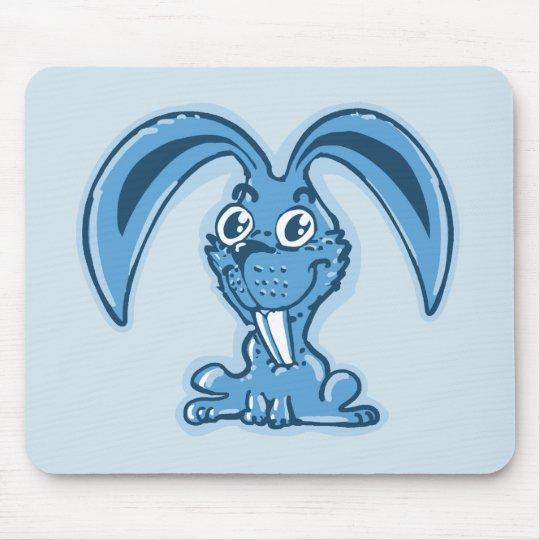 funny bunny sweet rabbit cartoon mouse mat