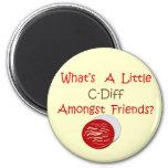 Funny C-Diff Nurse T-Shirts & Gifts Fridge Magnet