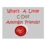 Funny C-Diff Nurse T-Shirts & Gifts Postcard