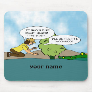 Funny Cache Geocaching Personalized Mouse Mat Mouse Pads