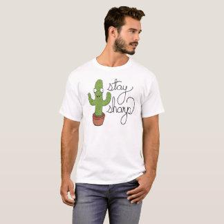 Funny Cactus Stay Sharp Shirt