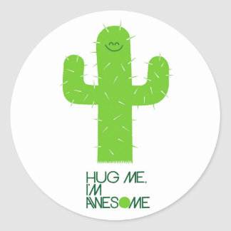 Funny Cactus Sticker