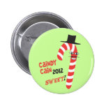 Funny CAINdy CAIN - Herman Cain 2012 for President Buttons