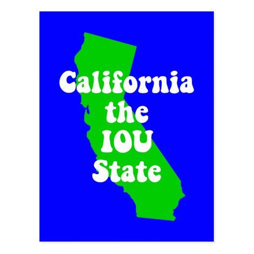 Funny California Post Card