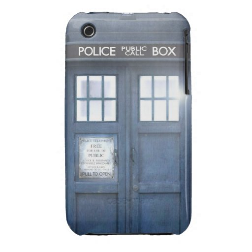 Funny Call box iphone 3 barely there case iPhone 3 Case-Mate Case