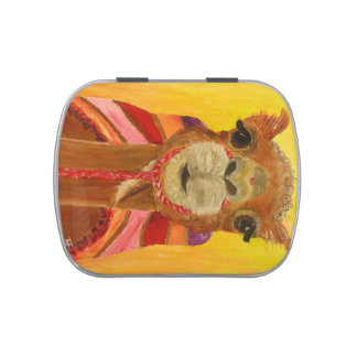 Funny Camel Candy Tin