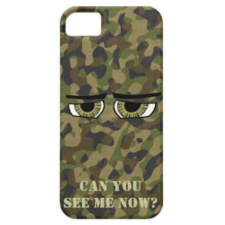 Funny Camouflaged  Eyes, Military, Hunters, Army Case For The iPhone 5