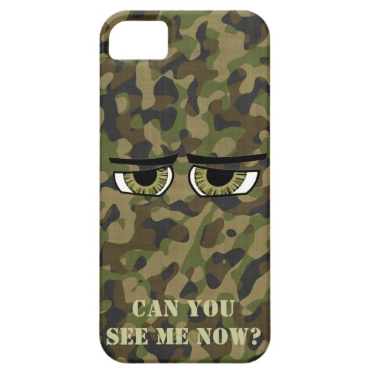 Funny Camouflaged Eyes, Military, Hunters, Army Case For