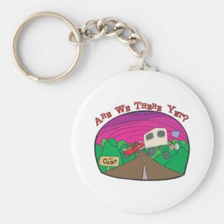 Funny Camping Key Ring