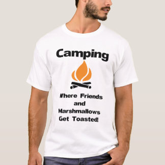 Funny Camping Saying with Marshmallows and Friends T-Shirt