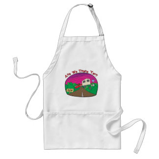 Funny Camping Standard Apron