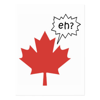 Funny Canadian Postcard