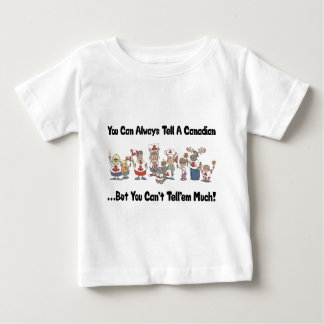 Funny Canadian T Shirt Baby