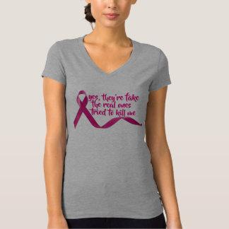 funny cancer survivor  awareness cure inspiration T-Shirt