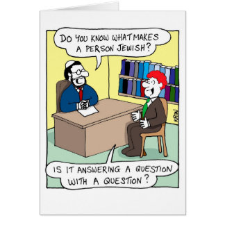 Funny card for Rosh Hashanah - What is Jewish?