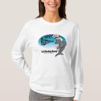 Funny Card Sharking Granny T-Shirt