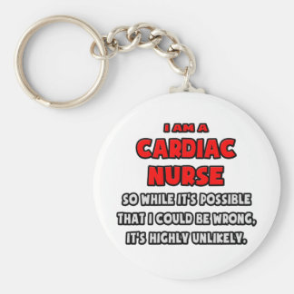 Funny Cardiac Nurse Highly Unlikely Key Chains