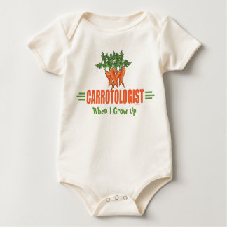 Funny Carrots Baby Bodysuit