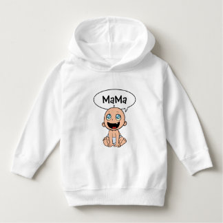 Funny Cartoon Baby Pullover Hoodie