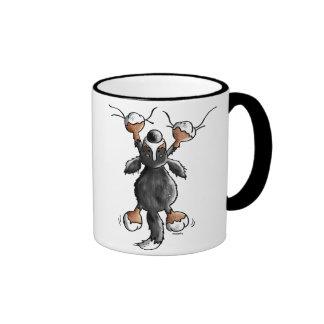 Funny Cartoon Bernese Mountain Dog Mug