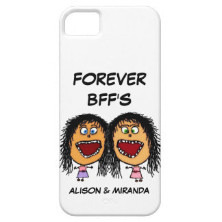 Funny Cartoon Best Friends BFF's iPhone 5 Cover