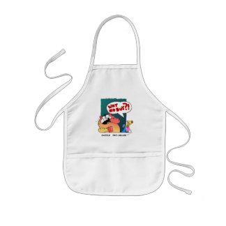 Funny Cartoon Cat | Zazzle Pro-Seller Kids' Apron