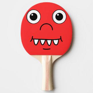 Funny Cartoon face Ping Pong Paddle