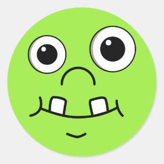 Funny Cartoon face Stickers