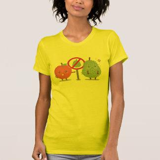 Funny Cartoon, Forbidden Fruit, Apple and Durian Shirts