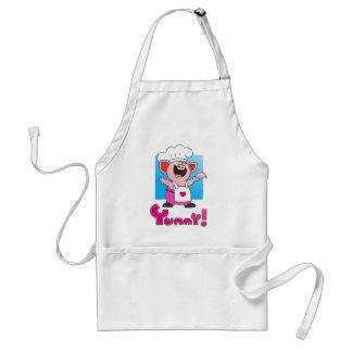 Funny Cartoon | Funny Cartoon Pig Chef Adult Apron