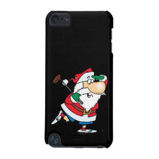 funny cartoon golfing golfer santa claus iPod touch 5G cases