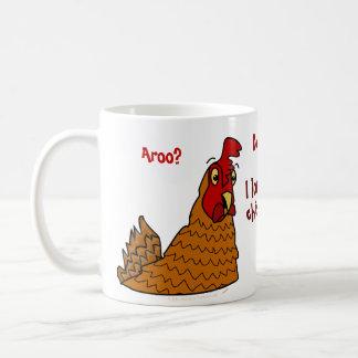 Funny Cartoon Hen I Love My Chickens Custom Mug