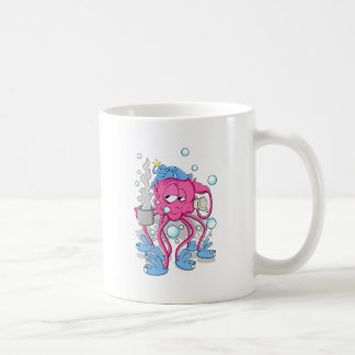 Funny Cartoon Octopus Coffee Mug