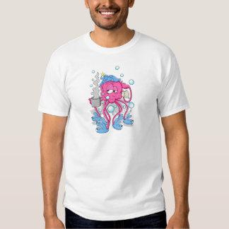 Funny Cartoon Octopus Tees