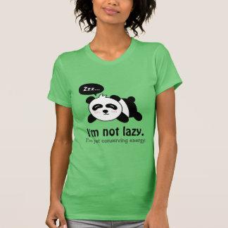 Funny Cartoon of Cute Sleeping Panda T-Shirt