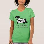 Funny Cartoon of Cute Sleeping Panda Tshirts