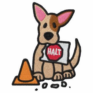 Funny Cartoon Rally-O Embroidered Hoody