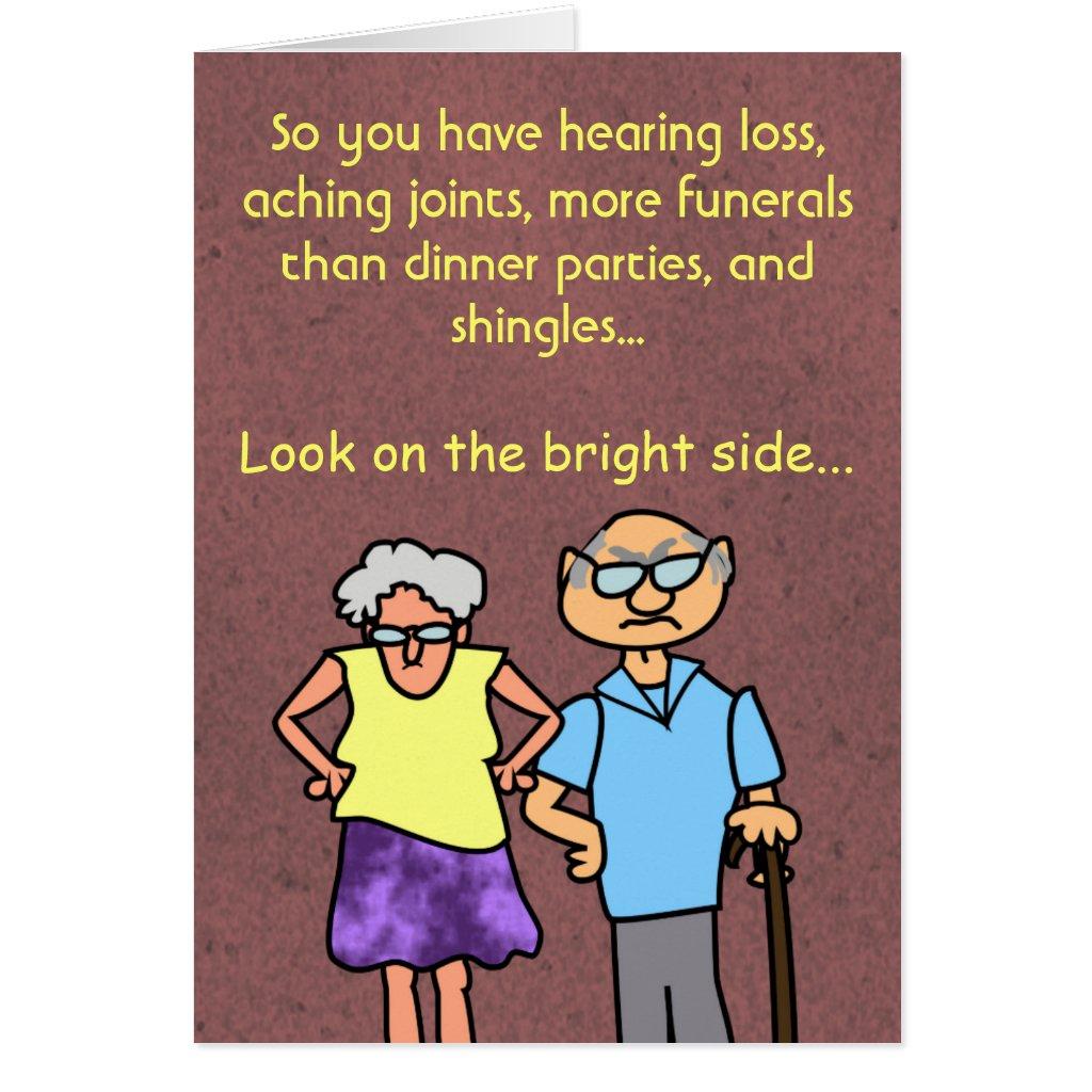Senior Birthday Cartoons Funny Cartoon Seniors Discount
