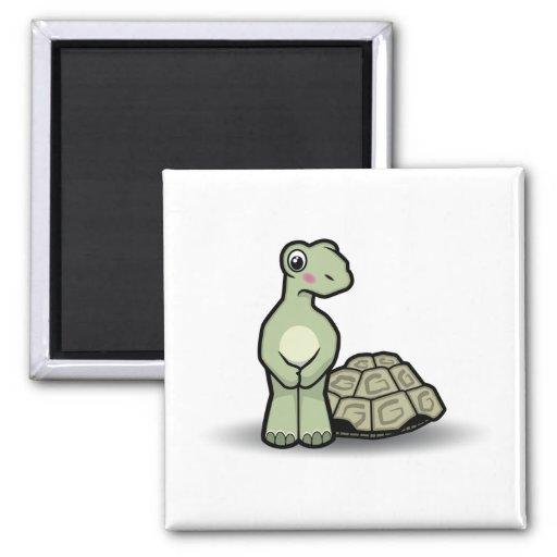 Funny Cartoon Shell-less Tortoise Magnet