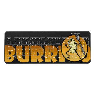 FUNNY CARTOON STYLE BURRITO COMPUTER KEYBOARD